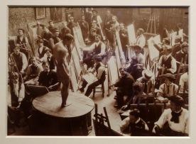 L'atelier Bonnat à l'école des Beaux-Arts de Paris vers 1900